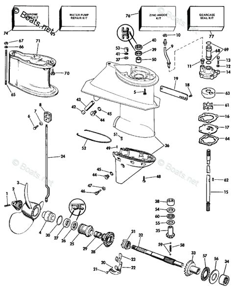 boats net evinrude parts evinrude outboard parts by hp 28hp oem parts diagram for