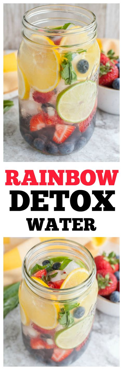 Family Detox by Rainbow Detox Water Food Lovin Family
