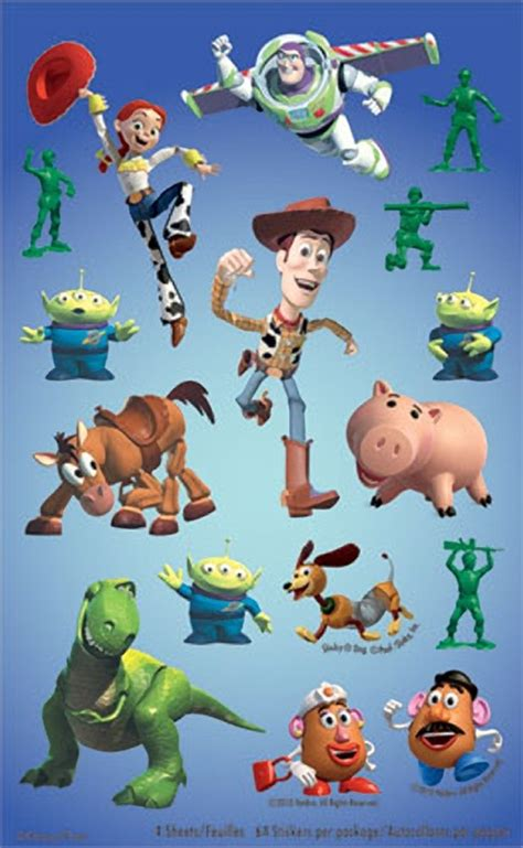 Toy Story 3 Sticker Set