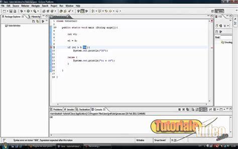 tutorial whatsapp java tutorial java nr 11 despre comanda if tutoriale video