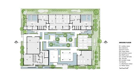 floor plan of spa gallery of naman spa design studio 18