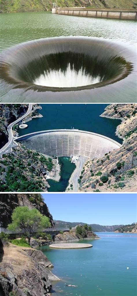 bottomless pit monticello dam drain hole xcitefun net glory hole california and earth on pinterest