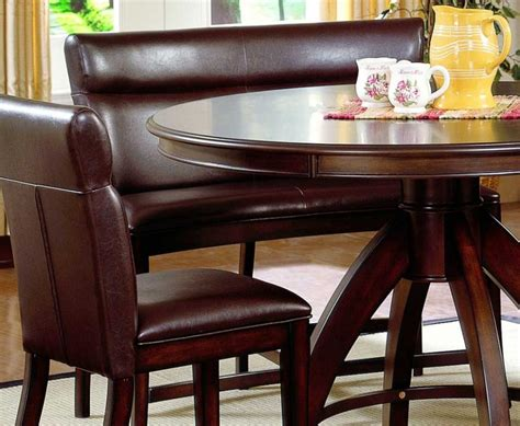 Curved Bench Seating Kitchen Table Furniture Dining Room Delectable Ideas Of Dining Room Table With Bench Seat Curved Dining Bench