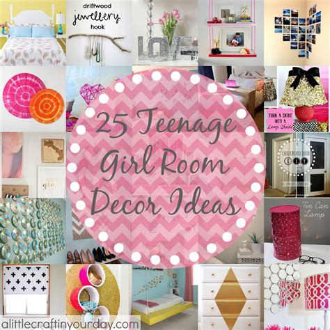diy teen room decor tips 25 more teenage girl room decor ideas a little craft in