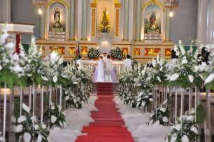 church decorations b cee me always the busy bee when we ll renew our vows