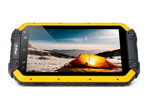 rugged 7 tablet devices mfox apad rugged tablet ip68 7 inch 1280x800 screen android 5 1 dual sim