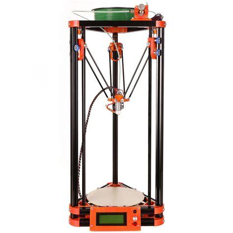 mini kossel 3d printer kit 4kg free 3d filament