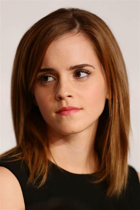 clavicut haircut emma watson the clavicut the best celebrity midlength