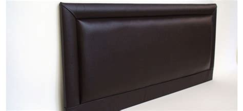 leather king headboard barcelona 5ft king size faux leather headboard