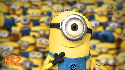 wallpaper laptop despicable me despicable me 2 minion wallpaper by sameerhd on deviantart