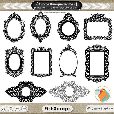 cornici gotiche clipart di ornato cornice barocca gotiche cornici digitali