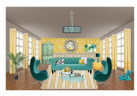 Yellow And Turquoise Living Room by Yellow And Turquoise Living Room Home Sweet Home