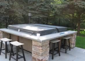 pro deck design 63 tub deck ideas secrets of pro installers designers