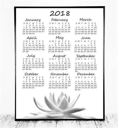printable 2018 wallet calendar