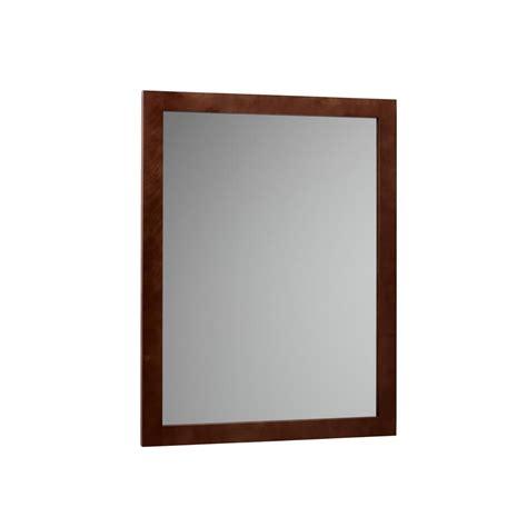 cherry wood mirrors bathroom shapeyourminds