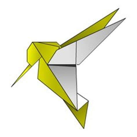 Origami Hummingbird Diagrams - origami on origami origami elephant and