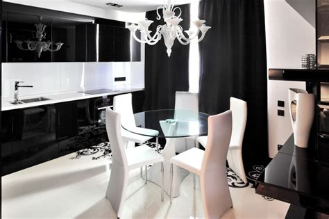 black white home decor project begovaya stunningly stylish interiors in striking