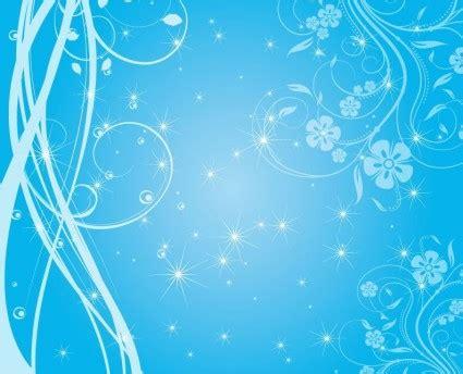 background natal biru gratis swirly bintang bintang biru vektor latar belakang