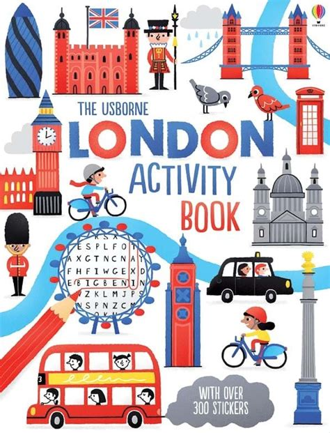 3d Sticker London by London Activity Book At Usborne Books At Home