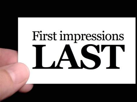 first impressions count at cambridge show home first impression analysis