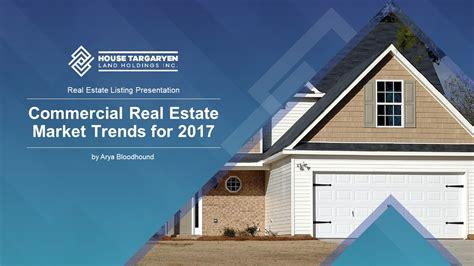Commercial Real Estate Market Trends Premium Powerpoint Template Commercial Real Estate Presentation Template