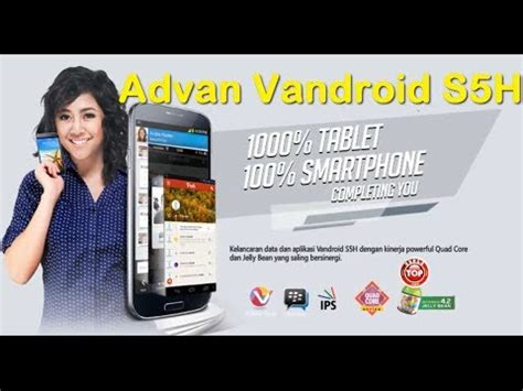 Tablet Advan Lolipop Review Smartphone Vandroid Advan S5 F Compared With Sam Doovi