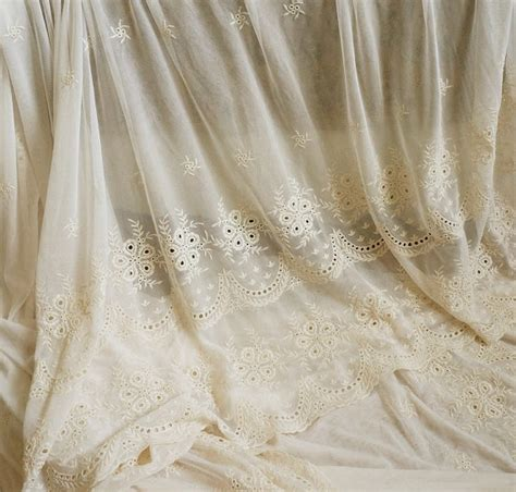 brautschuhe spitze stoff ivory lace fabric embroidered tulle lace fabric retro