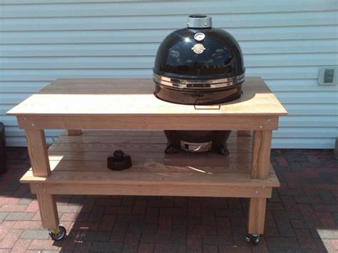 build a kettle grill table dome grill everything bbq