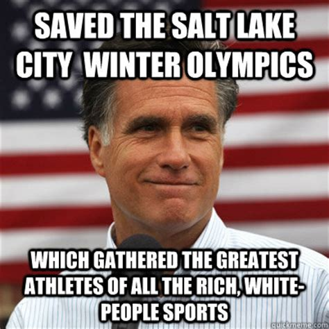 Rich People Meme - saved the salt lake city winter olympics which gathered