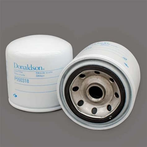 donaldson p series lube air coolant fuel and hydraulic donaldson lube filter spin on full flow p550318