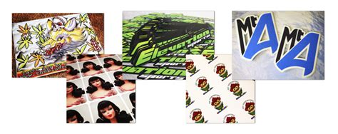 Stiker Digital digital printing vs screen printing custom sticker makers