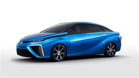 Blue Toyota Blue Toyota Fcv Concept Car