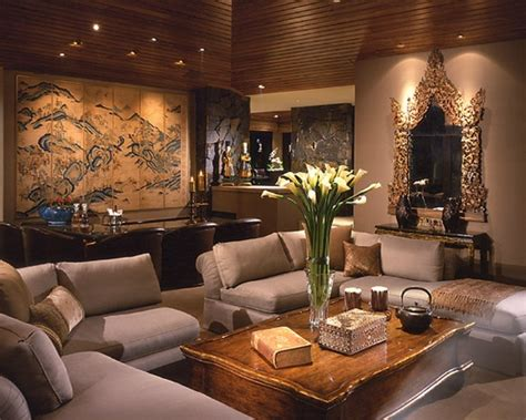 asian decor living room pinterest