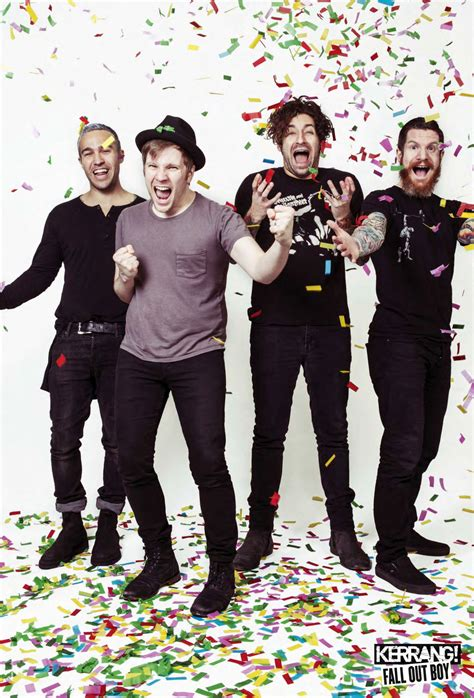 fall out boy fall out boy poster from today s kerrang magazine