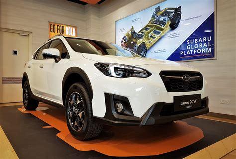 subaru malaysia all new subaru launched in malaysia autoworld com my