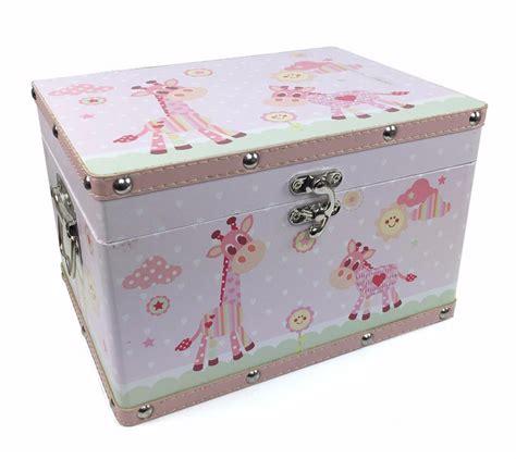 Kiddie Box Pink baby gift wooden keepsake box pink leatherette bonded lp27536 ebay