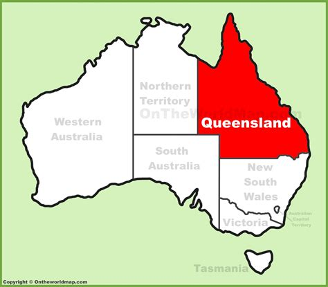 printable maps queensland queensland location on the australia map