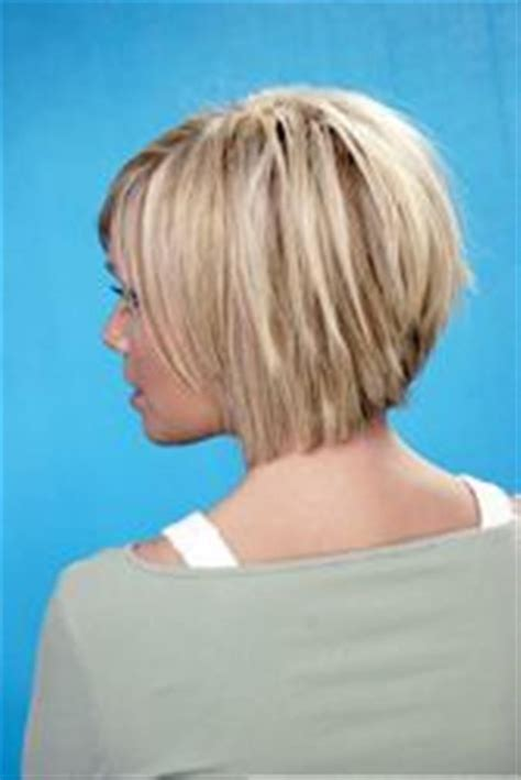 inverted layers in hair messy bob s hairstyle back views pictures of bob