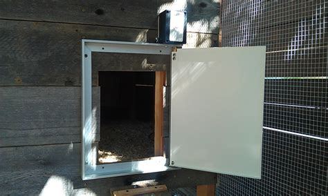 why you need an automatic chicken coop door and how to