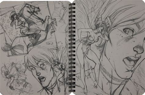 sketchbook j cbell comic books everything related to