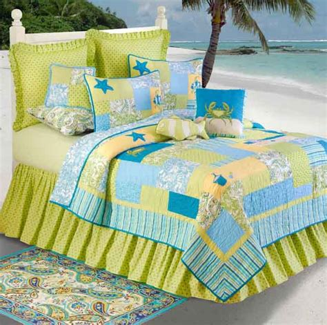 beach theme comforters hawaiian coastal beach and tropical bedding