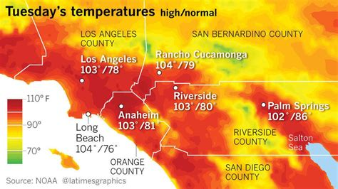 Raket Flypower Heat Wave 8 records fall across region in socal heat wave digit temperatures forecast for world series