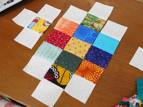 Sewing Quilt Squares Together by Eat Sleep Quilt Squares