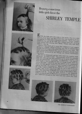 shirley temple mohawk hairdos beauty is a thing of the past may 2008