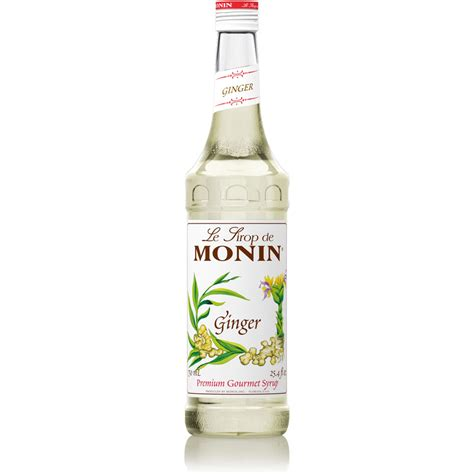 Monin Ginger Syrup   750 ml Bottle, 1 Liter Bottle(s): BaristaProShop.com