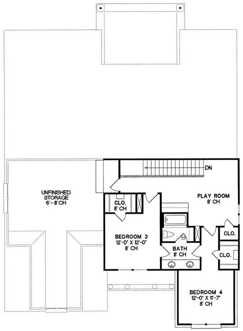 House Plan 120 1970 4 Bedroom 2665 Sq Ft Country 1970s 2 Story House Plans