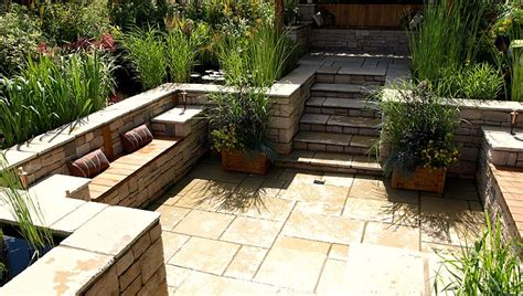 Garden And Patio Designs World Of Water Water Gardens Exhibit Hton Court Flower Show Landscape Garden Designers