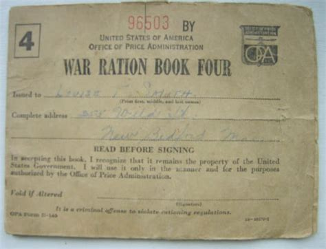 printable ration book template pin ration book template pictures on pinterest
