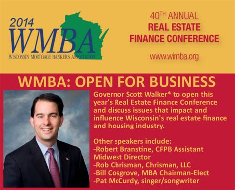 Mba Real Estate Finance by Union Home Mortgage Ceo Bill Cosgrove Set To Speak At 2014