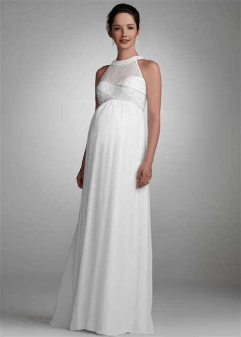 Davids Bridal Maternity Wedding Dress   Rachael Edwards